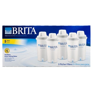 Brita 35516 Pitcher Replacement Filters (Pack of 5)