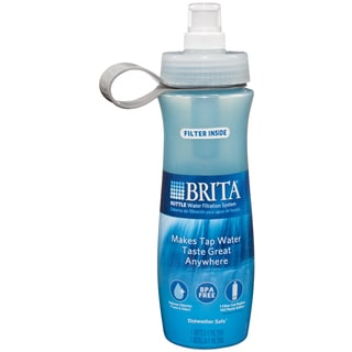 Brita 35558 24-ounce Brita Water Bottle with Filter