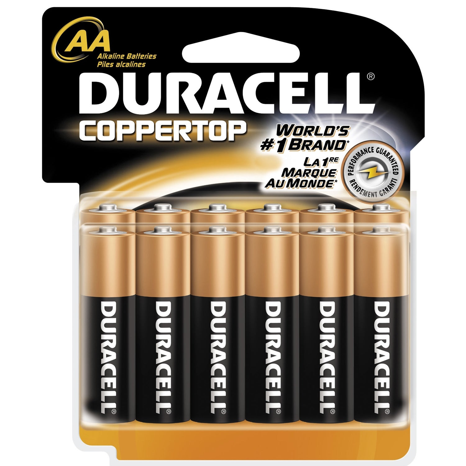 Duracell AA General Purpose Battery (Pack of 12), Grey sm...