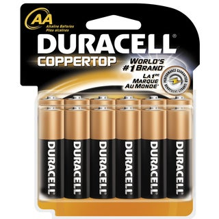 Duracell AA General Purpose Battery (Pack of 12)