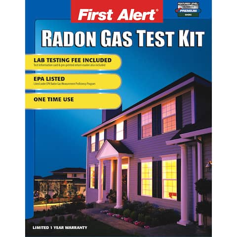 First Alert RD1 Radon Test Kit