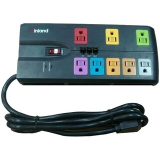 Inland SurgeGuard 8-Outlets Surge Suppressor