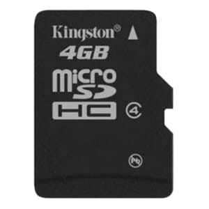 Kingston SDC4/4GBCJ 4 GB microSDHC
