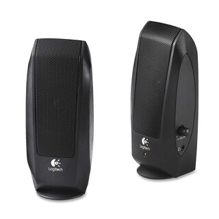 Logitech S-120 2.0 Speaker System - 2.3 W RMS - Black|https://ak1.ostkcdn.com/images/products/7681877/P15091728.jpg?_ostk_perf_=percv&impolicy=medium