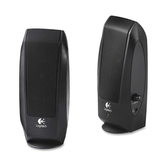 Logitech S-120 2.0 Speaker System - 2.3 W RMS - Black|https://ak1.ostkcdn.com/images/products/7681877/P15091728.jpg?impolicy=medium