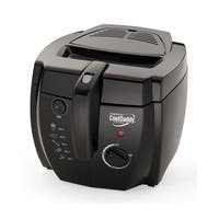 Presto Black Professional CoolDaddy Deep Fryer