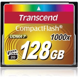 Transcend Ultimate 128 GB CompactFlash