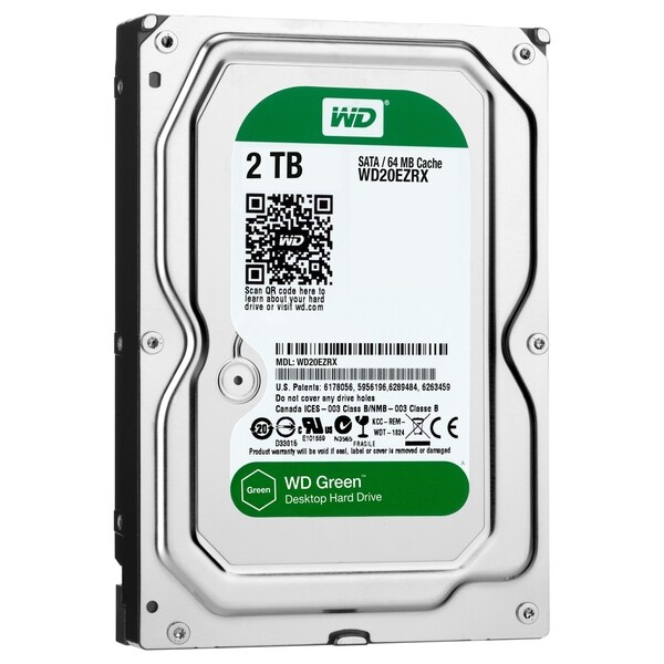 WD-IMSourcing NOB Green 2TB Desktop Capacity Hard Drives SATA 6
