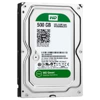 "WD Green Desktop WD5000AZRX 500 GB 3.5"" Internal Hard Drive - SATA"