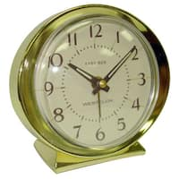 Baby Ben Goldtone Battery Powered Alarm Clock