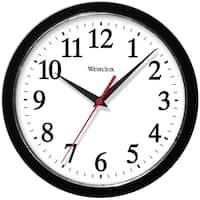 Westclox 10-inch Black Basic Wall Clock