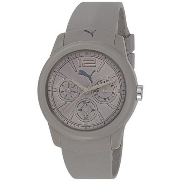 Puma Men's Grey Plastic 'Motor' Watch