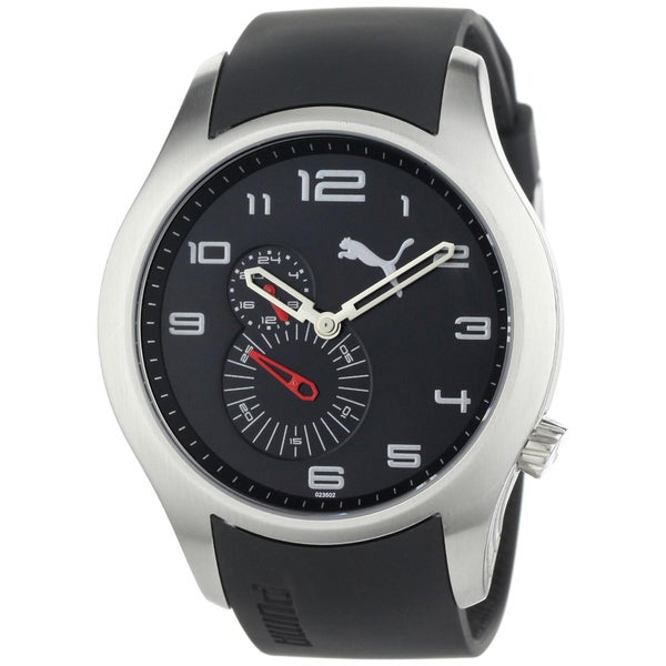 Puma Men's Stainless Steel Black 'Motor' Watch