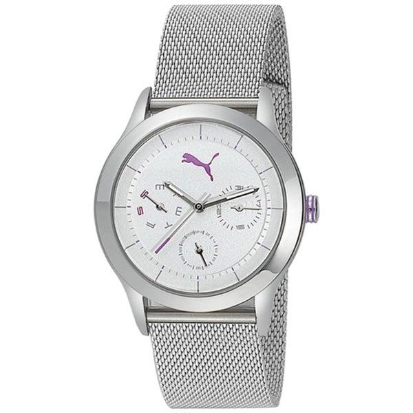 Puma Women's Stainless-Steel 'Motor' Quartz Watch