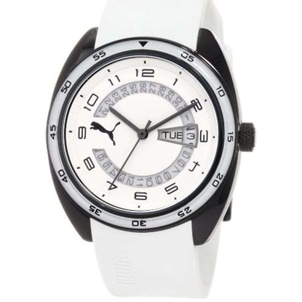 Puma Women's Active White Plastic Analog Quartz Watch