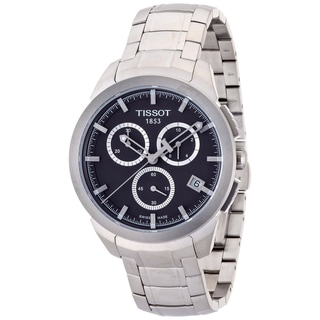 Tissot Men's Quartz Titanium Black Dial Chronograph Watch