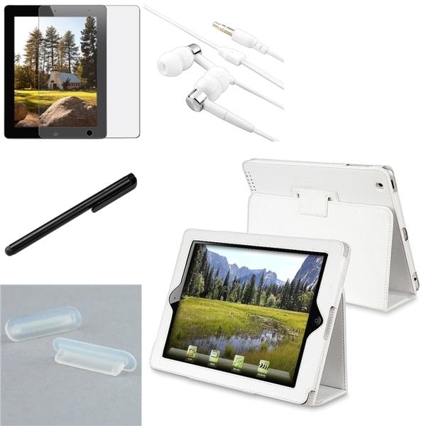 BasAcc Case/ Screen Protector/ Stylus/ Headset/ Plug for Apple® iPad 2