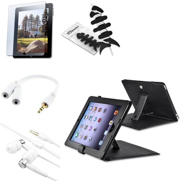 BasAcc Case/ Screen Protector/ Headset/ Splitter for Apple® iPad 1