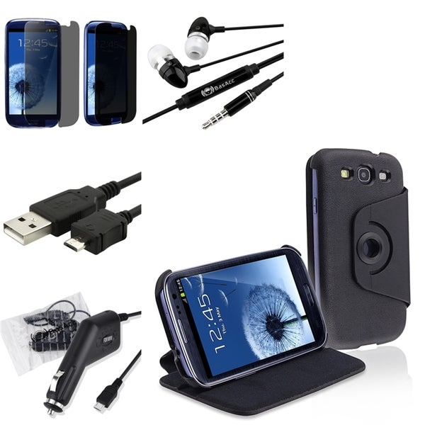 BasAcc Case/ Screen Protector/ Charger/ Headset for Samsung© Galaxy S3