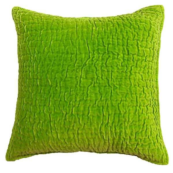 Shop Evan Lime Green Decorative Pillow Free Shipping Today