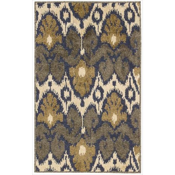 Kindred Ikat Print Multicolored Area Rug - 7'9 x 10'