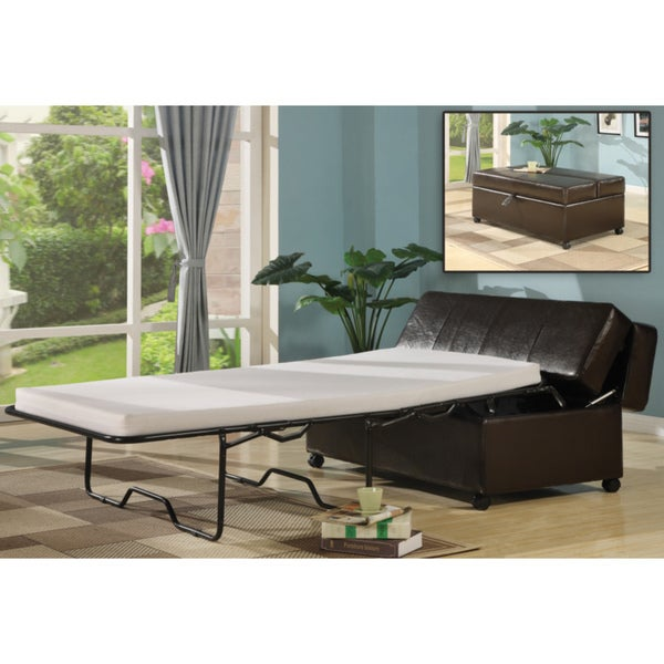 Pull out Sleeper Ottoman Free Shipping Today Overstock  : Ottoman Sleeper Bed 8922756b 6993 44f7 b486 4bae8dd54e7a600 from www.overstock.com size 600 x 600 jpeg 46kB