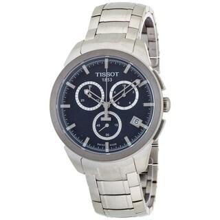 Tissot Men's T0694174404100 T-Sport Round Silvertone Bracelet Watch