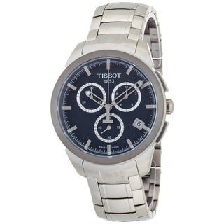 Link to Tissot Men's T0694174404100 T-Sport Round Silvertone Bracelet Watch Similar Items in Men's Watches