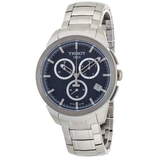 Tissot Men's T0694174404100 T-Sport Round Silvertone Bracelet Watch. Opens flyout.