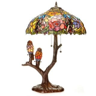 Link to Tiffany-style Warehouse of Tiffany Sarah Camille Table Lamp Similar Items in Table Lamps