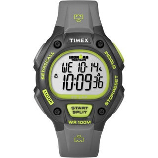 Timex Men's Ironman Traditional 30-lap Black/ Green Watch
