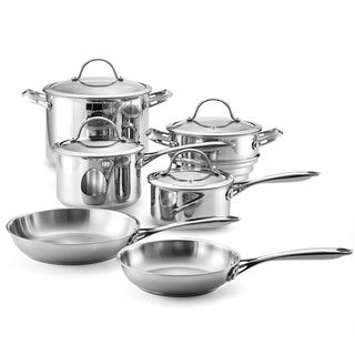 Cooks Standard Classic Stainless Steel 10-piece Cookware Set