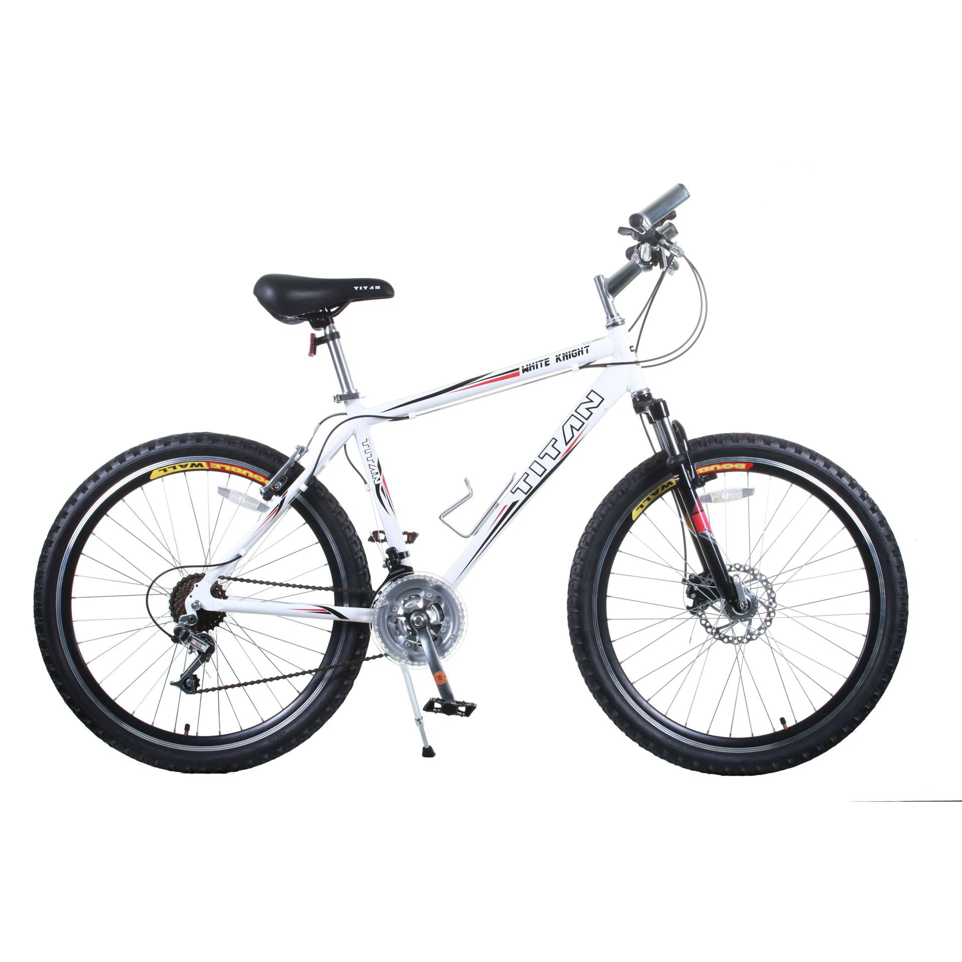 BLOCKS 2PCS BLACK BICYCLE MOUNTAIN BIKE ALL WEATHER MTB ATB PADS