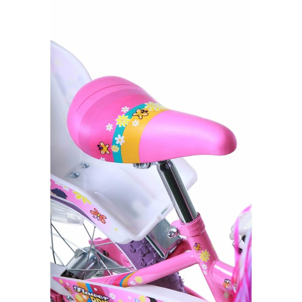 "NEW KIDS BICYCLE SADDLE SEAT PINK W//FLOWERS FOR 16/"" OR 20/"" BIKES!"