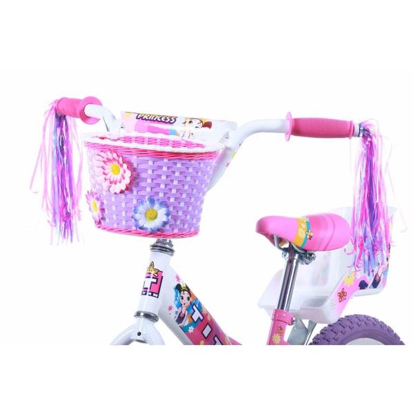 16-Inch Titan Girl/'s Flower Princess BMX Bike Pink
