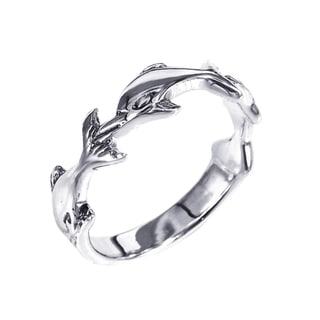 Handmade Sterling Silver Triple Dolphin Ring (Thailand)