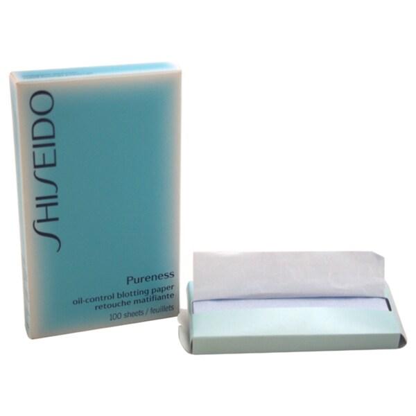Shiseido Pureness Oil Control Blotting Paper (100 Sheets)
