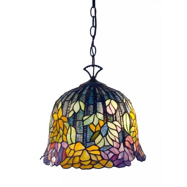 Tiffany-style Brittney Hanging Lamp