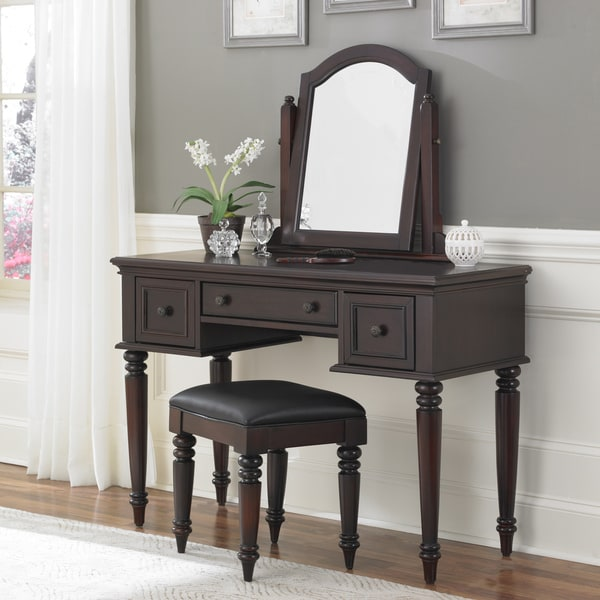 Bermuda Vanity and Bench by Home Styles