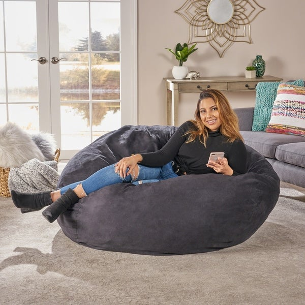 Superb Buy Bean Bag Chairs Online At Overstock Our Best Living Creativecarmelina Interior Chair Design Creativecarmelinacom