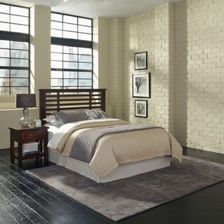 Cabin Creek Queen/ Full Headboard and Night Stand by Home Styles