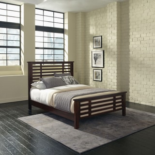 Home Styles Cabin Creek Vintage Chestnut Queen Bed