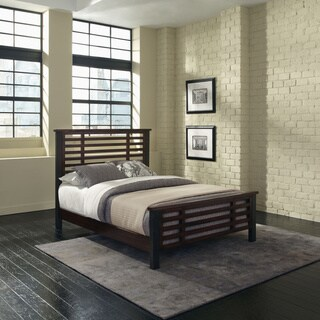 Home Styles Cabin Creek Vintage Hammer Chestnut Queen Bed