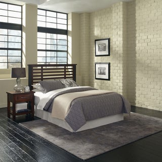 Home Styles Cabin Creek Queen/ Full Headboard and Night Stand