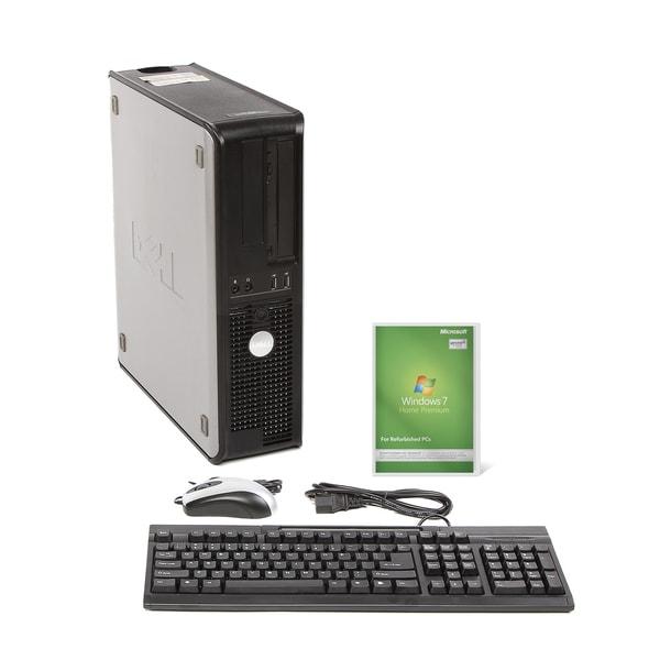 Dell Optiplex 740 AMD A64x2 2.6GHz CPU 4GB RAM 160GB HDD Windows 10 Home Desktop PC (Refurbished)