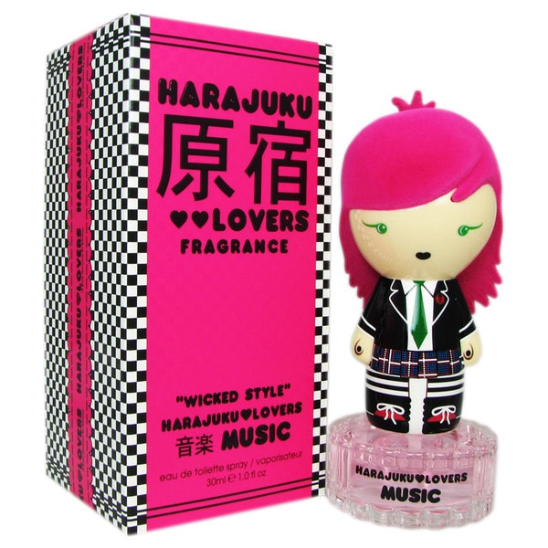 Gwen Stefani Harajuku Lovers Wicked Style Music Women's 1-ounce Eau de Toilette Spray