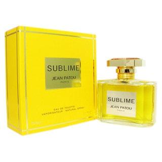 Jean Patou Sublime Women's 2.5-ounce Eau de Toilette Spray