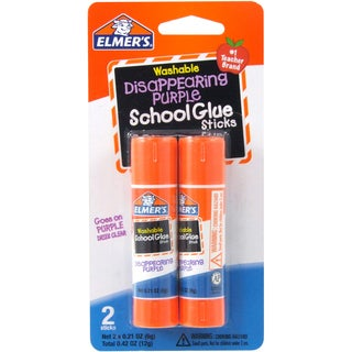 Elmer's Disappearing Purple Stick Glue (Pack of 4)