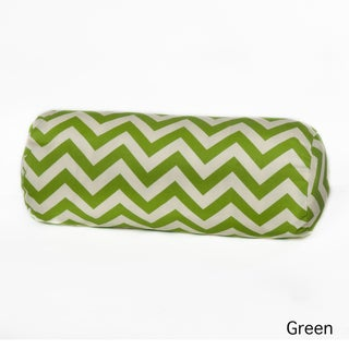 Chateau Chevron Polyester Outdoor Bolster Pillow