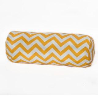 Porch & Den Hopecrest Dormont Outdoor Chevron Bolster Pillow